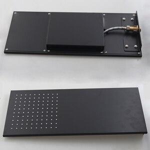 Image 3 - Душевая лейка BAKALA, светодиодный смеситель для душа с цифровым дисплеем и двумя функциями, дождевая насадка