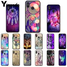 Yinuoda Dream Catcher Dreamcatcher Paars Telefoon Case voor Xiao mi Redm4X 6A RODE Mi gaan rode Mi 5 5 plus note4 Note5 7 mi A1 A2LITE(China)