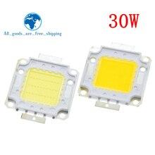 1 шт./лот светодиодный 30 Вт интегрированный высокой мощности лампы из бисера Белый/Теплый white900mA 32-34 в 2400-2700LM 24* 40mil