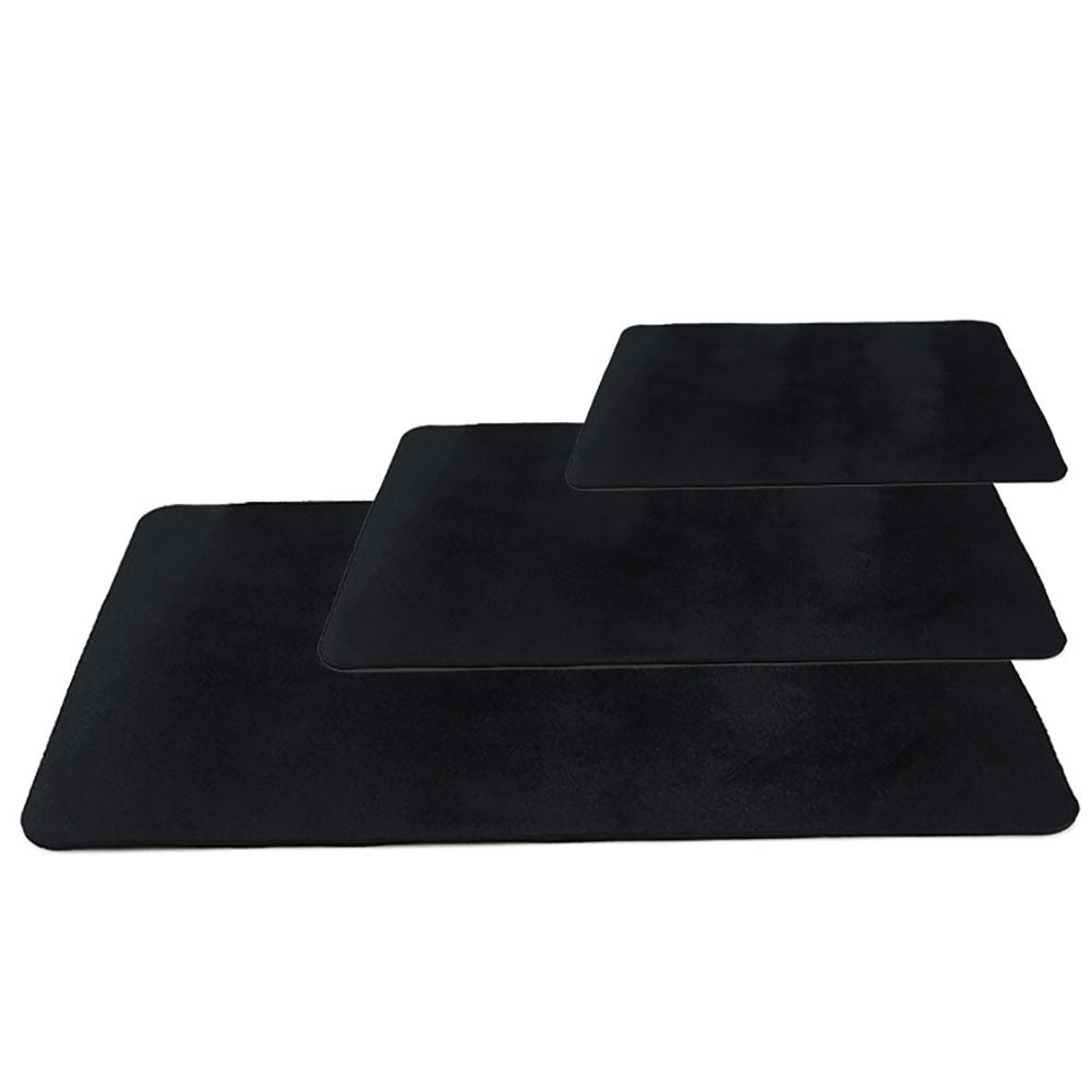 40cmx60cm Black Playing Card Mat Pad Close-Up Magic Magicians Poker Mat Performance Tool For Board Game