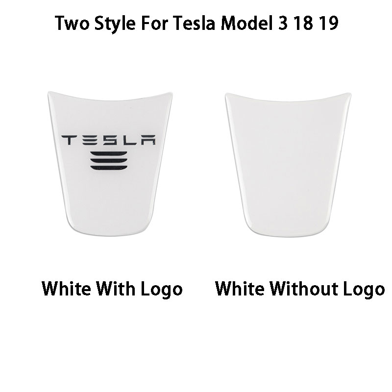 White Inner Steering Wheel Decor Sticker Cover Trim For Tesla Model 3 18 19|Automotive Interior Stickers|Automobiles & Motorcycles - title=