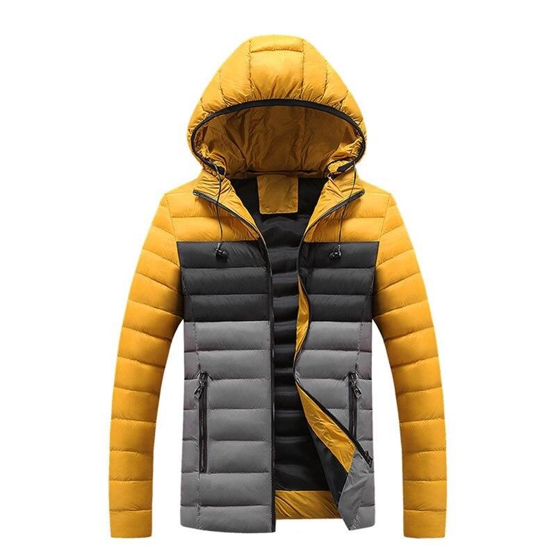 Men Plus Velvet Thick   Down   Jacket School High Street Hip Hop Kpop Fashion Warm Casual Plus Size   Coat   2019 Winter Hot Selling