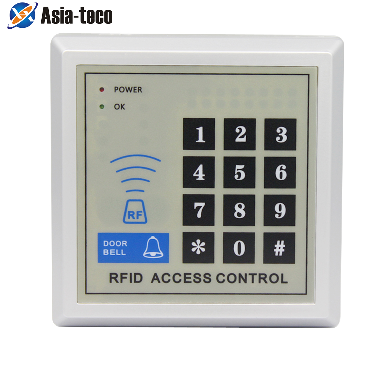 MF 13.56Mhz IC Access Control System Device Machine IC Card Security Proximity Entry Door Lock 2000 User