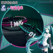 Хацунэ Мику браслет с анимэ ручной ремешок манга ролевой косплей