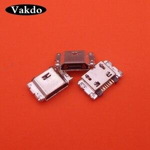 Image 2 - 20pcs Per Samsung Galaxy j4 Più j6 j4 + j6 + j410 j415 J610F G6100 G610F USB Dock di Ricarica presa di Ricarica Presa Jack Connettore