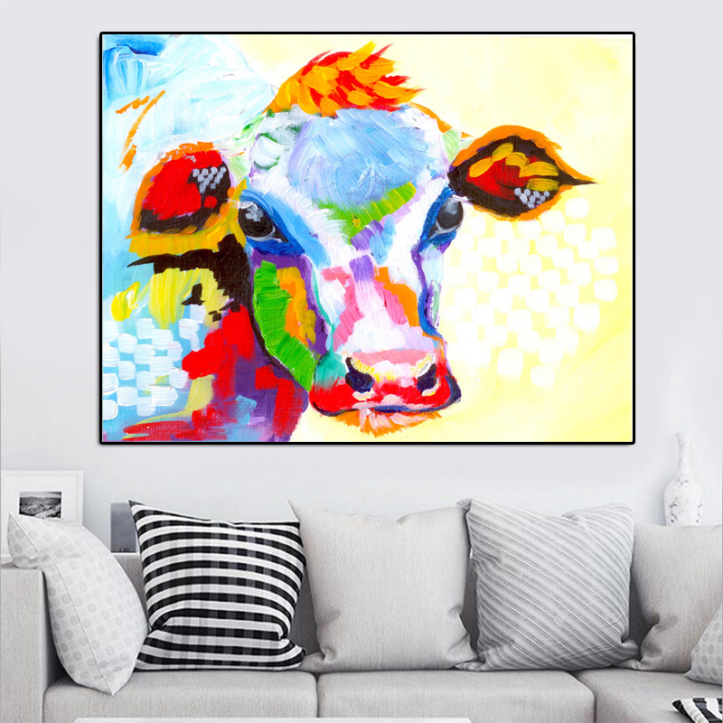 abstract cows2