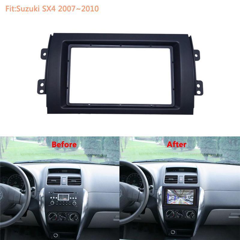 Автомобильная аудио установка рамка DVD панель автомобиля стерео установка Dash комплект навигации РЕМОНТ панель кронштейн Радио Рамка 2 DIN дл...