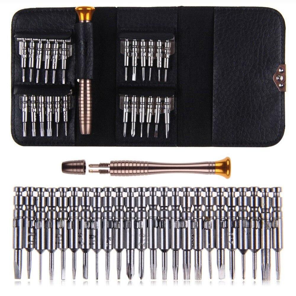 25 In 1 Screwdriver Set Multifunctional Opening Repair Tool Set  Screwdriver For Phones Tablet PC Repair