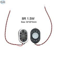 YuXi 1 parça GPS hoparlör 8R 1.5 W 20*30mm 2030 kalınlığı: 4mm hoparlör Buzzer zil 8 ohm 1.5 watt