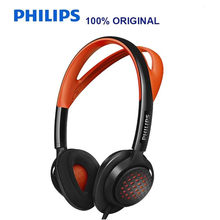 Philips SHQ5200 Sport Music Headphones with 3.5mm Plug Bass Headset for Xiaomi MP3 Official Verification Hua Wei with Free Gift(China)