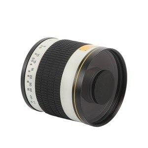 Image 2 - 500 مللي متر F/6.3 كاميرا تليفوتوغرافي دليل عدسات عاكسة + 2X ومح عدسات لكاميرات كانون نيكون بنتاكس أوليمبوس سوني A6300 A7RII GH5 DSLR