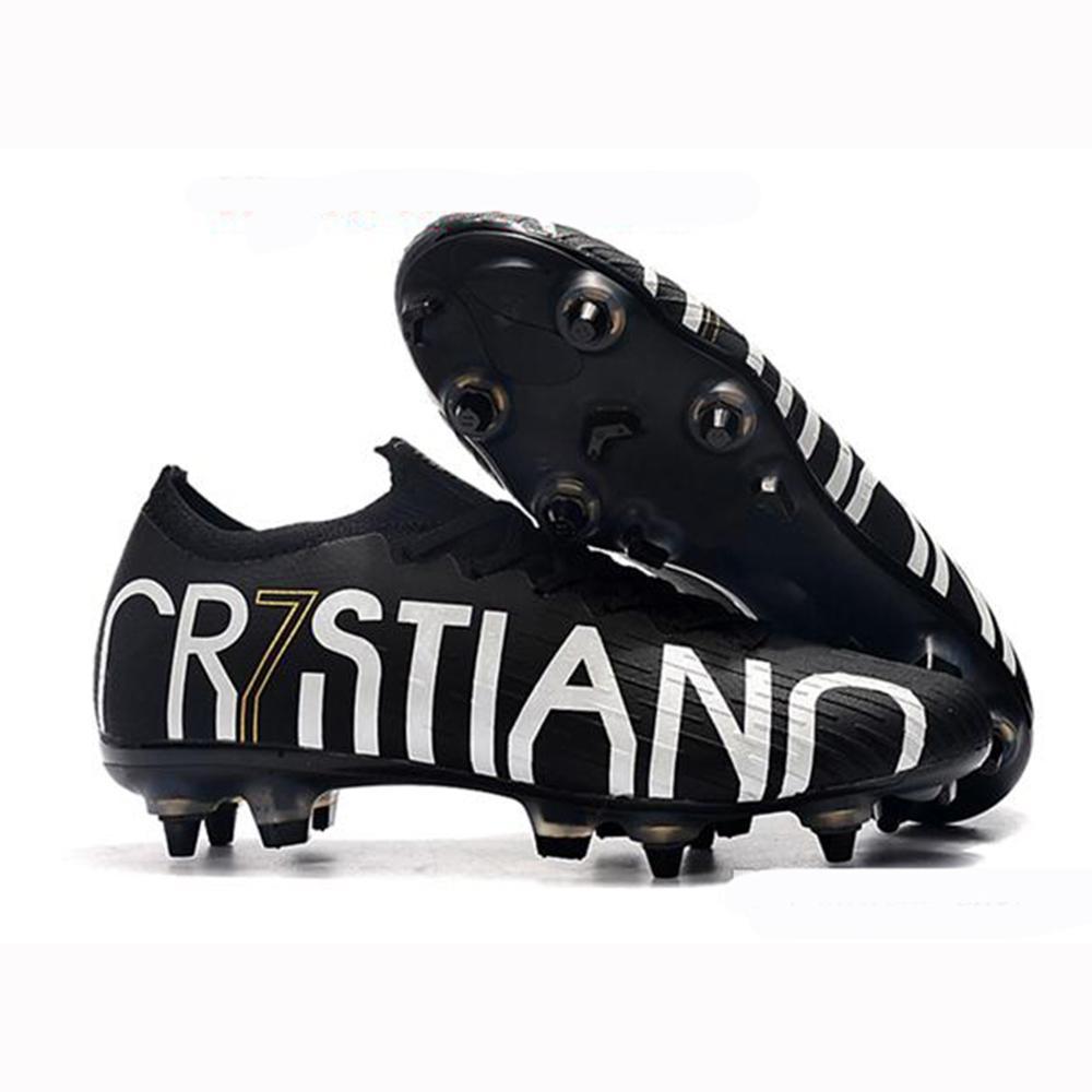 Soccer shoes Vapors Fury VII Elite CR7 SE SG soccer cleats Sport Long Spikes Superfly VI football boots for men boys women