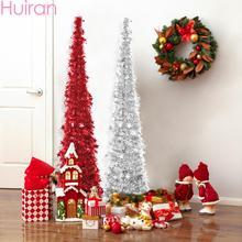 цена HUIRAN Scalable Christmas Tree Merry Christmas Decorations for Home 2019 Christmas Ornaments Xmas Decor Chritmas Natal Navidad в интернет-магазинах