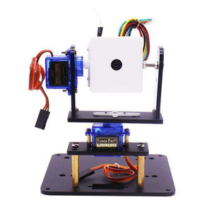 Image 5 - Yahboom Microbit fpv camera gimbal micro: bit robot WIFI car intelligent vision kit RC car robot spare parts