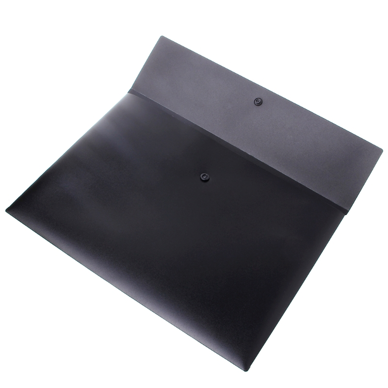 A4 Size Portable PP Plastic Envelope File Waterproof Storage Bag Document Folder