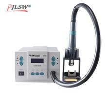 цена на PJLSW 861DW lead-free hot air gun soldering station Intelligent digital display 1000W rework station For PCB chip repair