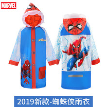 Spiderman Raincoat impermeable Mickey mouse children Kids Girls Poncho Boys Rainwear Rainsuit men raincoat gifts outdoor