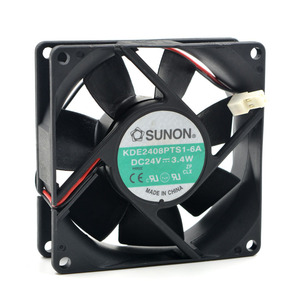 KD2408PTB1 6A KD2408PTS1 6A DC 24V 3.4W 8025 80*80*25mm 4900RPM Computer Blower Cooling Fan|Fans & Cooling| |  -