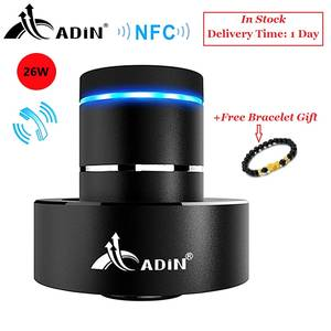 Adin Vibration Speaker Resonance Subwoofe NFC Bluetooth-Bass Stereo Touch Wireless