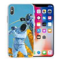 case iphone 5 Fencing Cool Sport Case for Apple iphone 11 Pro X XS Max XR 7 8 6 6S Plus + 5 S SE 5C Silicone Carcasa Phone Coque Cover (3)