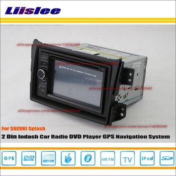 Liislee For Suzuki Splash 2008 2014 Car Radio reo CD DVD Player GPS NAVI HD Touch