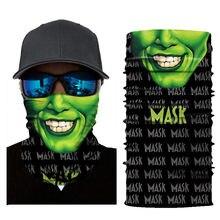 Ciclismo motocicleta pescoço tubo de esqui cachecol máscara facial balaclava festa de halloween 3d sem costura galáxia pescoço mágico gaiter rosto escudo bala