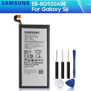 SAMSUNG Original Battery EB-BG920ABE EB-BG920ABA For Samsung GALAXY S6 G9200 G9208 G9209 SM-G920F G920I G920 G920V/T/F/A 2550mAh