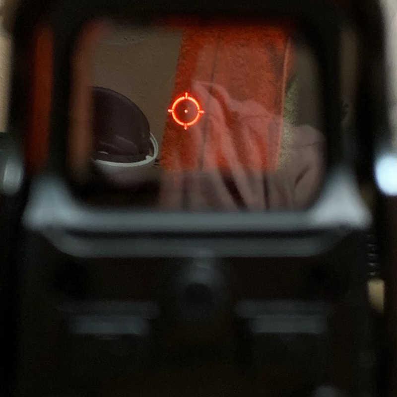 Taktis Merah Hijau Dot Holographic Sight Lingkup Berburu Airsoft 551 552 553 Red Dot Reflex Sight Riflescope dengan 20 Mm mount