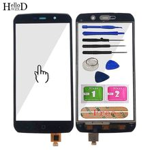 Mobile Touch Screen For Vernee Active Touch Screen Digitizer Panel Sensor Front Glass Phone Parts Assembly Tools 3M Glue Wipes