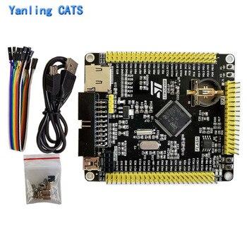 STM32f407vet6 development board stm32F4 ARM Cortex M4 MCU controller LQFP100 Pin chip discovery system Core board 1PCS YL-136 цена 2017