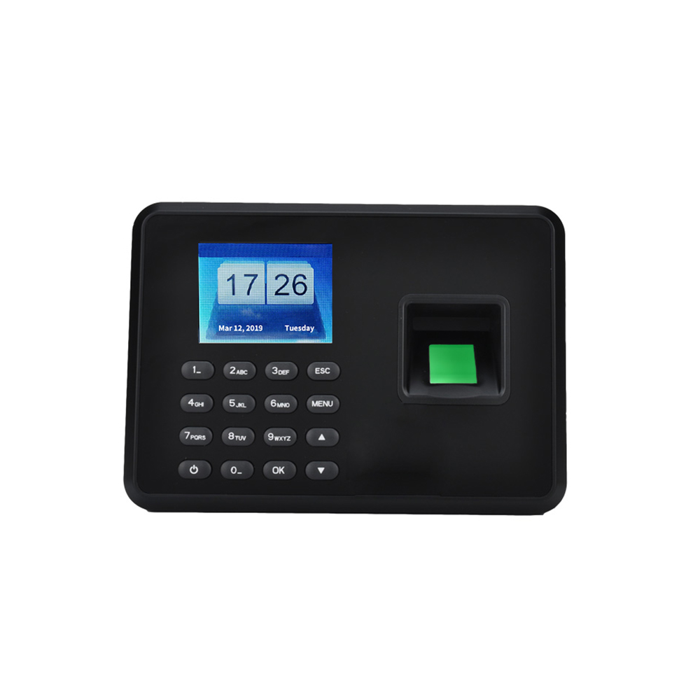 2.4 inch LCD Screen Intelligent Biometric Fingerprint Password Attendance Machine  5V  Attendance Checking in Recorder|Time Recording| |  - title=