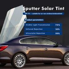 SUNICE 1.52x10/20/30m Car Sputter Film Light Gold Window Tint 2 ply Glass Sticker Auto Home Heat Insulation Solar Tint Film