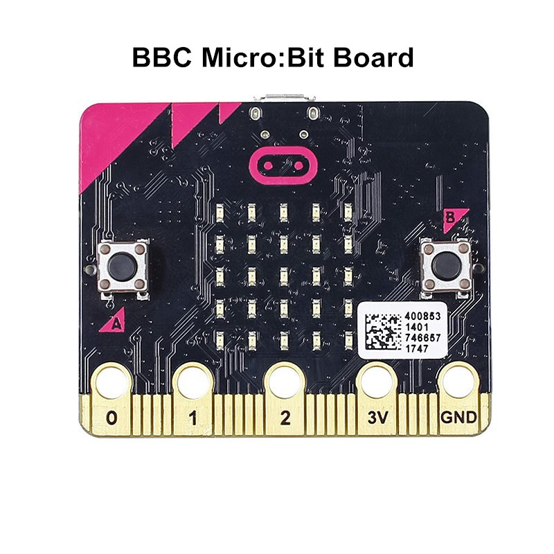 2pcs/lot BBC Micro:Bit Micro Controller Programmable LED Microbit Board Madecodes Modules For Kids Programming Creative Learning