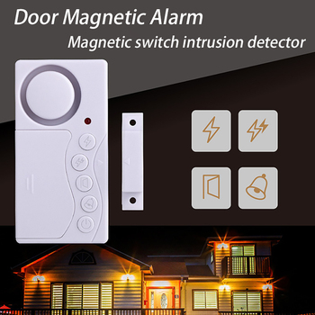 4 in 1 Wireless Home Window Door Burglar Security Sensor Alarm System for Home Security System Door Magnetic Burglar Alarm home safety alarm system standalone magnetic sensors independent wireless home door window entry burglar alarm security alarm
