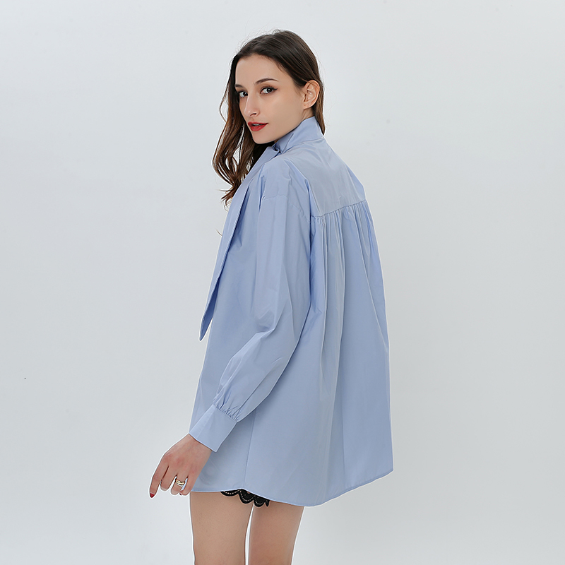 Blouses Casual Korean TWOTWINSTYLE 9