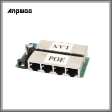 4 LAN + 4 POE (8 LAN + 8 POE) יציאות פסיבי מתאם פין Power Over Ethernet PoE מודול מזרק DC 9-48V IP המצלמה PoE Anpwoo S3 s4(China)
