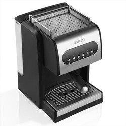 Double-head semi-automatic espresso machine 15bar home manual milk machine stainless espresso maker  espresso cups