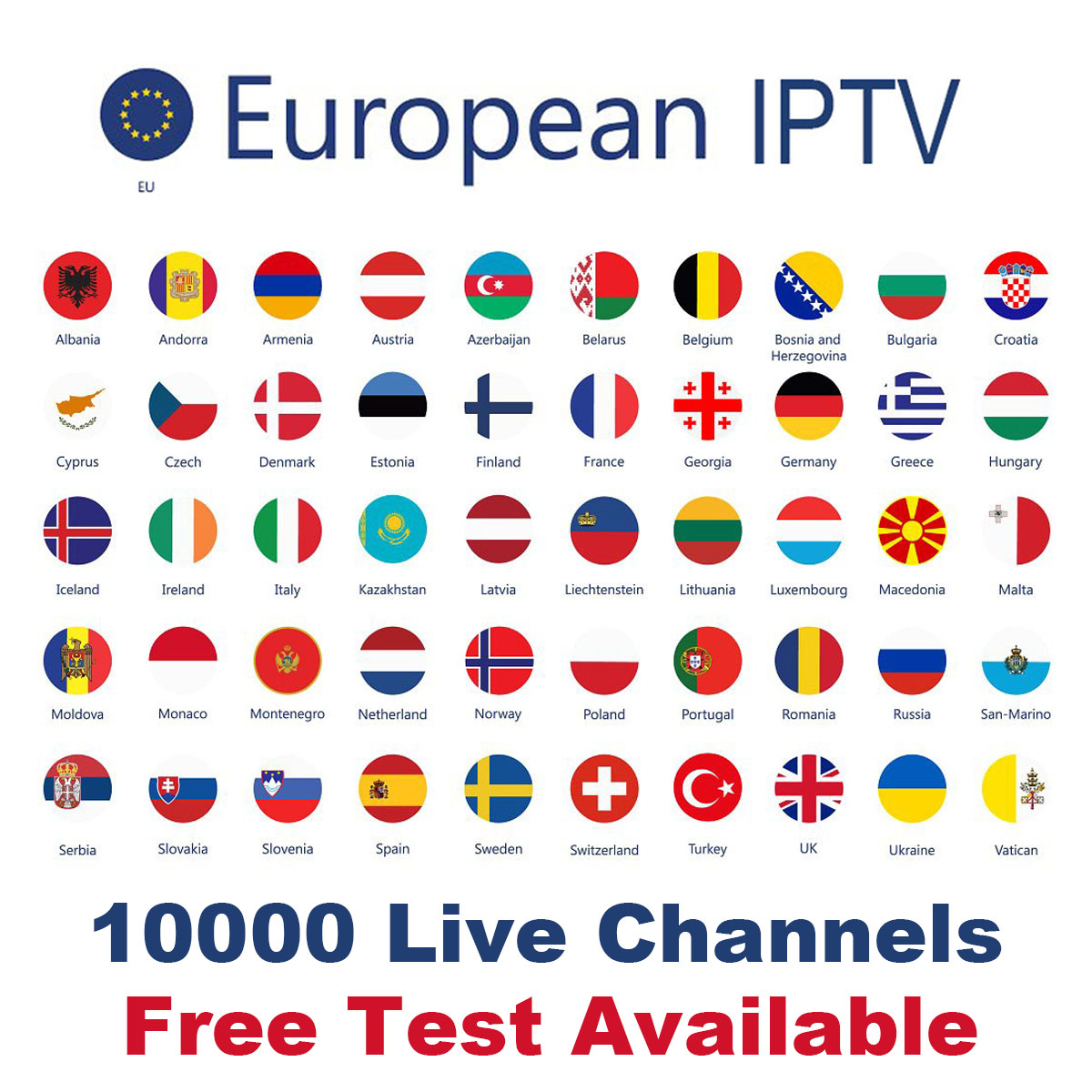Europe IPTV Subscription For Sweden UK German France Dutch Norway French Poland Israel Smart TV Android Box IPTV M3U X96 Mini