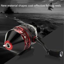 Carrete de pesca giratorio de metal común carrete de pesca tirachinas herramienta para pesca de mosca accesorios 2020 izquierda y derecha