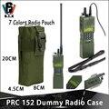 Тактический страйкбол военный PRC 148 макет радиоприемника чехол рация с радио мешком PRC-148 аксессуар PRC148 антенная посылка