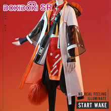 DokiDoki-SR Game Arknights Cosplay Aak Costume Men Halloween