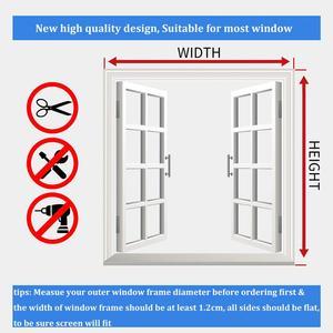 Image 5 - Регулируемый магнитный оконный экран «сделай сам», окна для автодомов, съемная моющаяся невидимая москитная сетка для мух, сетка на заказ