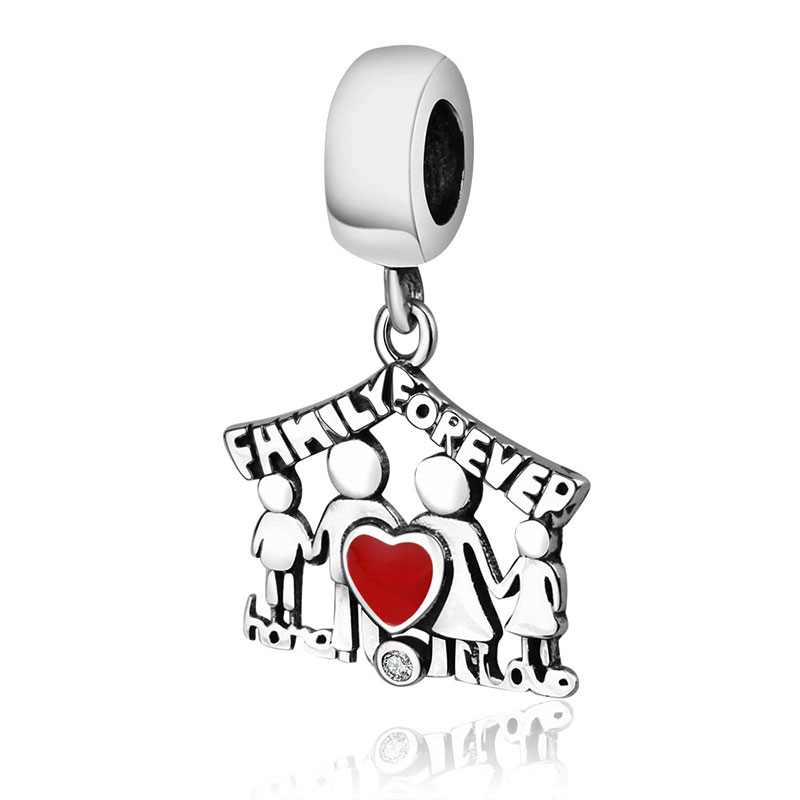 Подходит браслет Pandora Подвески из стерлингового серебра 925 пробы мальчик талисман для девушки Подвеска-бусы DIY ювелирных изделий дизайн Berloque - Цвет: PL0176
