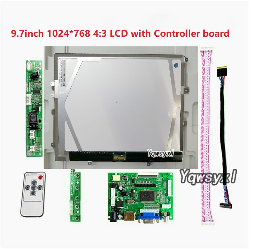 Placa controladora HDMI VGA 2AV, kit para monitor 4:3 de 9,7