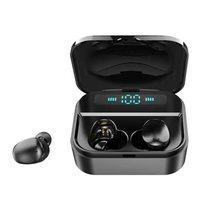 TWS-X7 bluetooth/wireless earphones/headphones stereo Bluetooth headsets waterproof IPX7 earpiece/earbuds with microphone newest f9 tws bluetooth earphone v5 0 binaural wireless stereo in ear headsets waterproof ipx7 sports earbuds with microphone