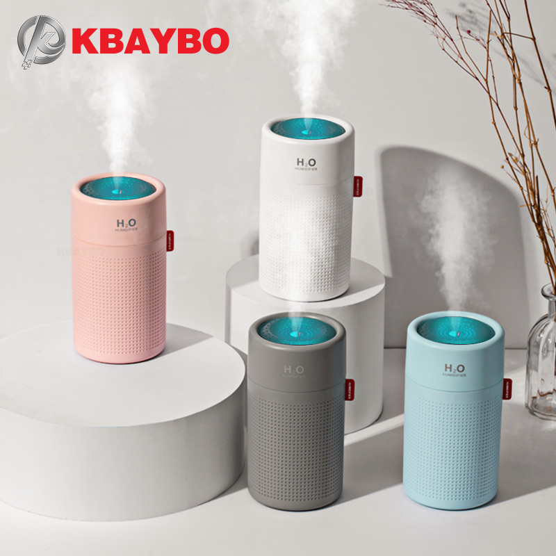 KBAYBO 750ml USB Electric Aromatherapy Air Diffuser Mini Portable Ultrasonic Humidifier Aromatic Sprayer Home Office