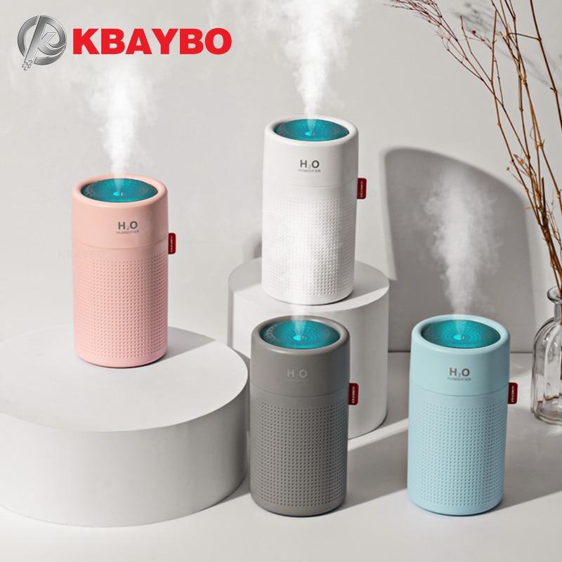 KBAYBO 750ml USB Electric Aromatherapy Air Diffuser Mini Portable Ultrasonic Humidifier Aromatic Sprayer Home Office