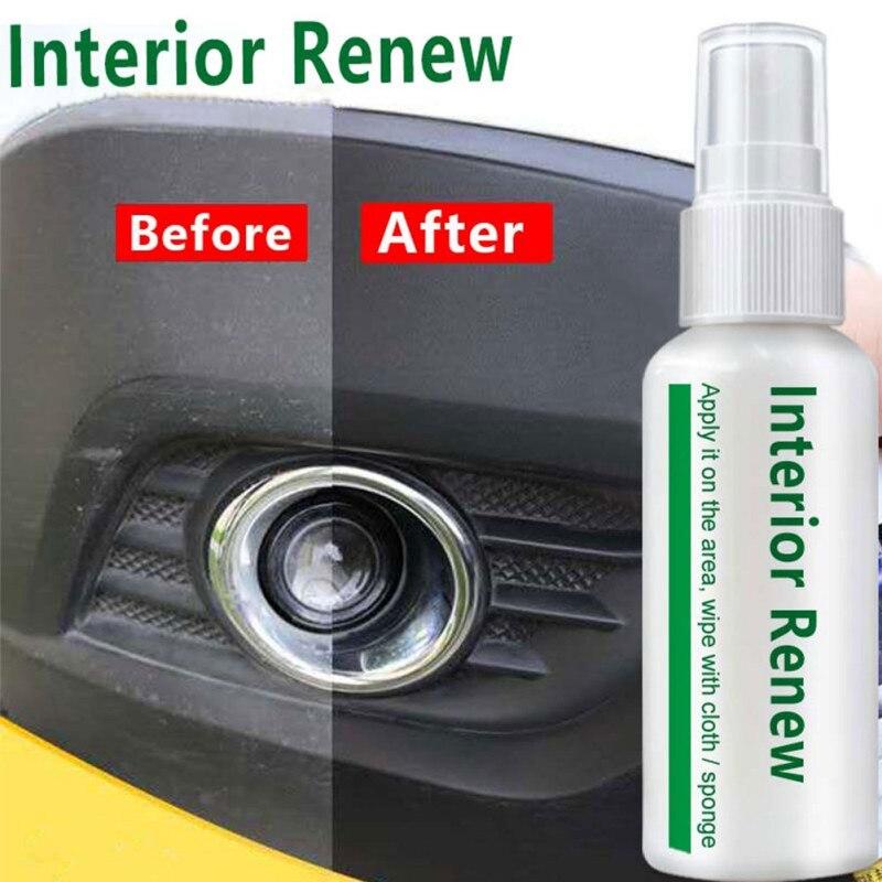 New 10ml Car Plastic Parts Care Retreading Agent Interior Maintenance Cleaner Refurbisher Agent