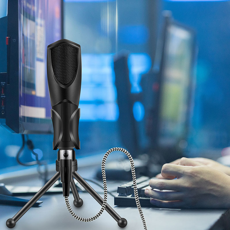 Professional USB Wired Sound Recording Microphone With Tripod Stand For PC Live Broadcast KTV OD889