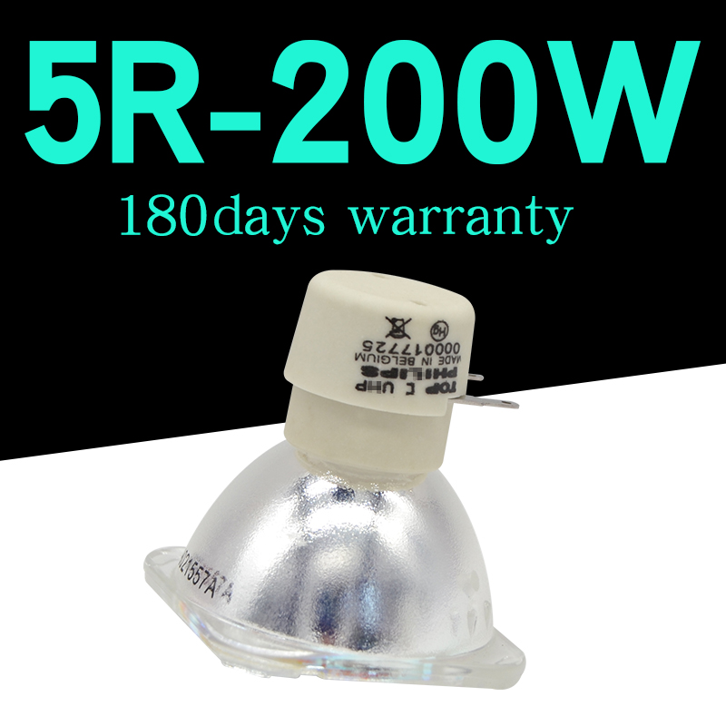 UHP 200W Lamp MSD R5 Platinum Sharpy 5R Bulb Stage Light Replacement For 200W Beam Moving Head Light Single Ended Lamp